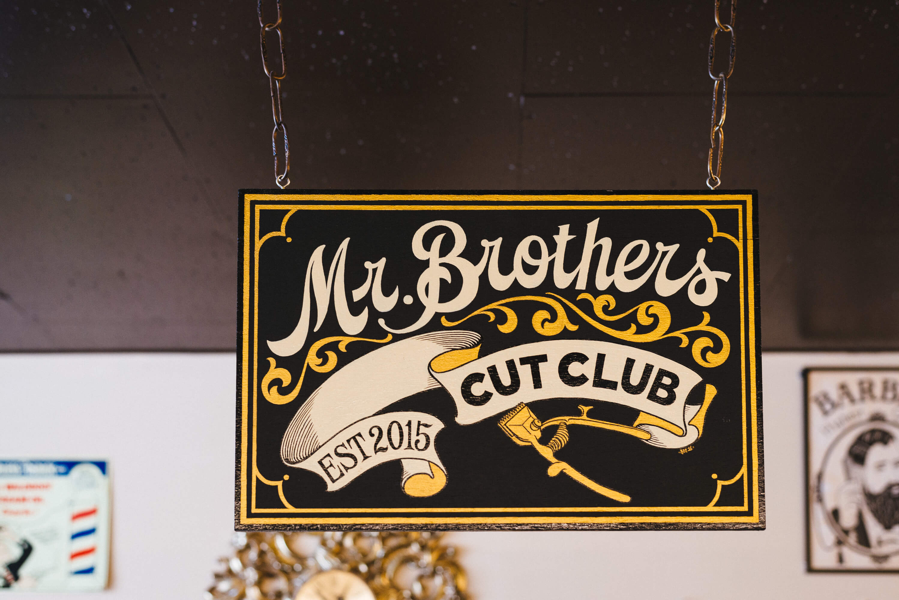 Mr Brothers original logo