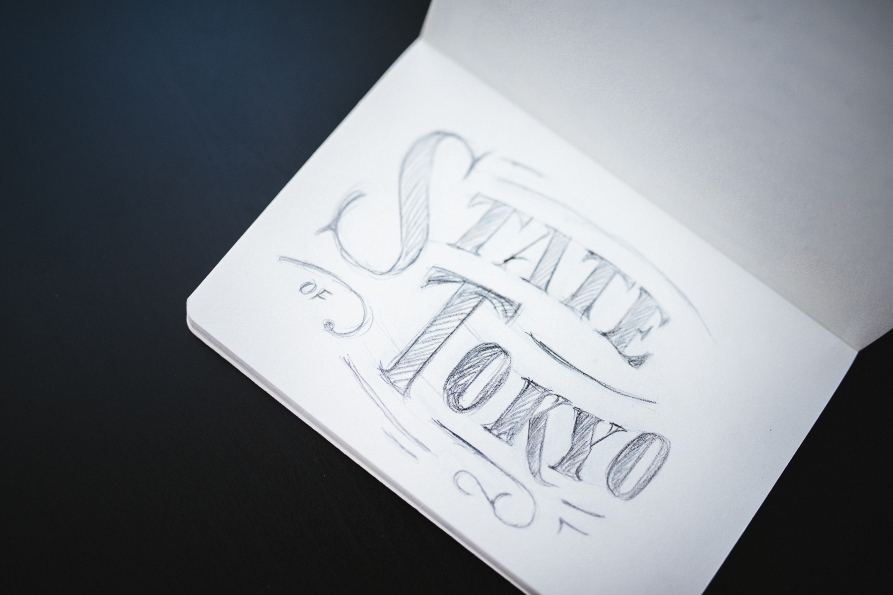 Saori Kasai Lettering for State of Tokyo